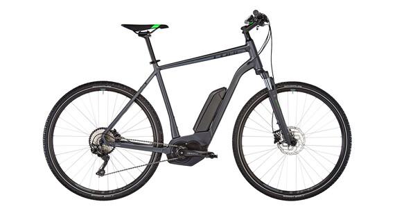 Cube Cross Hybrid Pro 500 Elcykel Hybrid grå